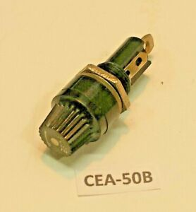 Cea 50b Bayonet Cap Panel Mount 3ag Agc Fuse Holder Fits In 1 2 Round Hole