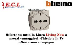Bticino Living Now Km4140a16f Outlet Flat Standard German And Italian