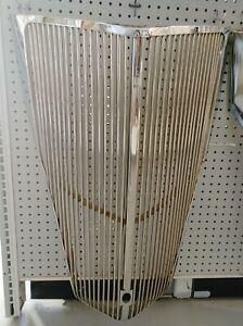 1936 Ford Chrome Grille 2nd Driver Quality With Crank Hole