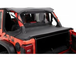 Soft Top Wind Screen For 18 21 Jeep Wrangler Rubicon Sport S Willys Gf53k7