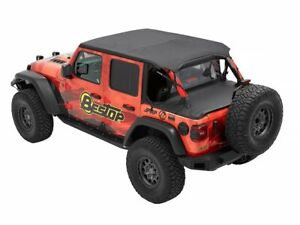 Soft Top Wind Screen For 18 21 Jeep Wrangler Unlimited Sport Rubicon Fv97c5