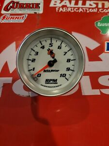 Autometer 7297 C2 In Dash Tachometer Used