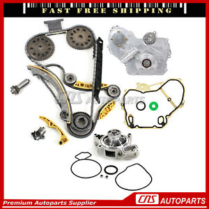 Ecotec Timing Chain Cover W Oil Water Pump For 00 11 Gm 2 0l 2 2l 2 4l Dohc