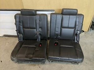 Chevy Gmc Tahoe Yukon Escalade 3rd Row Seats 2007 2010 2011 2012 2013 2014