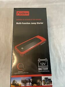 Audew Car Jump Starter 2000a Peak 20000mah 12v Battery Charger Gas Diesel