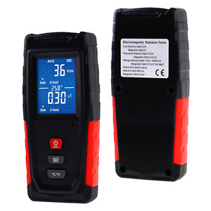 Radiation Detector Emf Tester Meter Electric Magnetic Field Rechargeable Battery