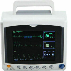 Contec Patient Monitor Cms6000c Vital Signs Monitor Of Ecg nibp spo2 pulse Rate