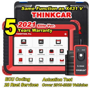2021 New Thinktool Pro Obd2 Scanner Active Test Ecu Coding Diagnostic Tool As V