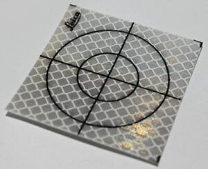 Reflective Tape Survey Targets 20pcs 60x60mm white Fast Delivery
