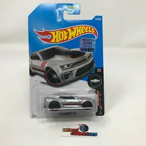 16 Camaro Ss 155 Silver 2017 Hot Wheels Factory Set Wh8