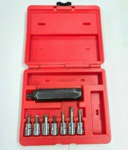 Snap On Impact Driver Set Pit120 Most Sockets bits Are New