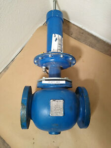New Fmc Tech Invalco Rdfg 301 510 Back Pressure Valve 3 Ductile Body Blue