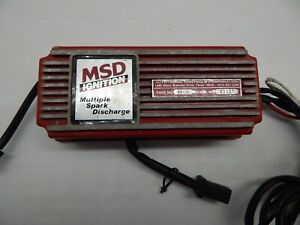 Msd 6a Ignition Box Module Chevy Ford Mopar