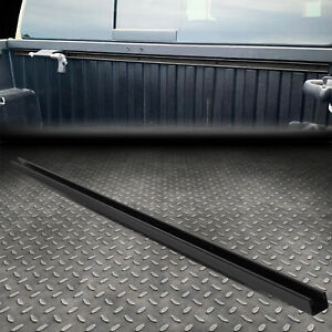 For 16 20 Toyota Tacoma Black Carbon Steel Cargo Truck Bed Header Deck Rail Cap