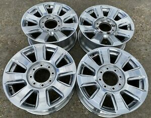 20 Ford F350 F250 Superduty Platinum Oem Factory Stock Wheels Rims