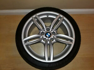 2011 17 Bmw F10 5 Series M Front Rim Wheel 8 5x19 Oem 7842652 71414