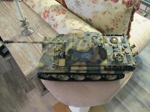 21st CENTURY TOYS ULTIMATE SOLDIER WWII GERMAN PANTHER TANK 1:18 $125.00