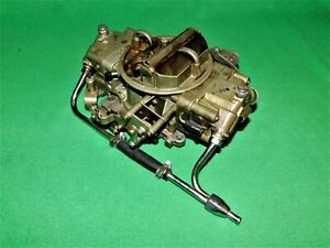 Holley 9023 Marine 800 Cfm Spreadbore Double Pumper Carburetor Mercruiser