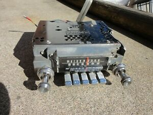 1965 Mercury Factory Am Fm Radio Complete Original Fomoco Unit Ford Motor Co