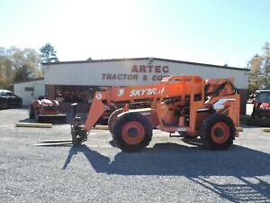 2013 Skytrak 6042 Telescopic Forklift Watch Video Only 2806 Hours