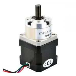 Nema 17 Stepper Motor With Geared Planetary Gearbox 1 7 A 2nm