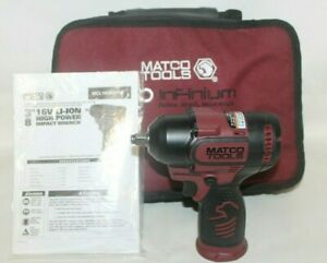 Matco Mcl1638hpiw 16v Brushless Infinium 3 8 Drive High Power Impact Wrench New