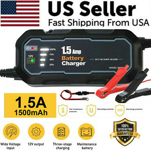 1500mah Car Jump Starter Booster Jumper Box Power Bank Battery Charger Portable