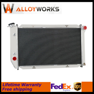 3row Radiator For Ford Gran Torino Thunderbird ranchero cougar mark Iv 1972 1976