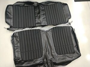 69 Chevy Camaro Pui Comfortweave Rear Seat Upholstery