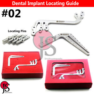 Dental Depth Gauge Parallel Surgical Implant Locator Drill Guide S type L type