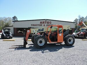 2012 Jlg G6 42a Telescopic Forklift Watch Video Only 2742 Hours