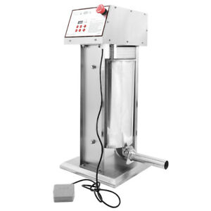 Hakka Commercial 22lb Stainless Steel Electric Sausage Stuffer And Sausage Maker