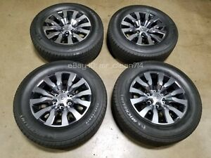 18 2020 Toyota Tacoma Limited Wheels Rims Tires Oem Factory 4runner Alloys