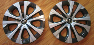 Toyota Prius Corolla Hybrid Oem Hubcap Wheel Cover Qty 2