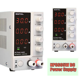Nps605w Digital 300w Adjustable Dc Switching Lab Regulated Power Supply