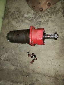 Massey Harris 44 Tractor Belt Pulley Drive Assembly Mounting Nut An Bolts Mh Oem