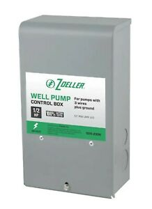 Zoeller 1010 2336 1 2 Hp Submersibles Well Pump Control Box