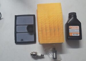 Stihl Ts700 Ts800 Air Filter Combo Kit spark Plug fuel Filter 1 Two Cycle Oil