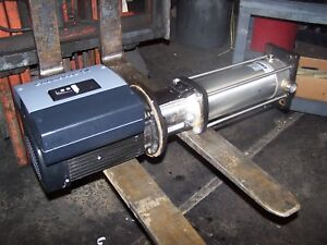 Grundfos 3 Hp Stainless Multistage Centrifugal Pump Vfd Crne3 19 Mle90fa