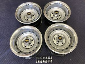 1971 87 Chevy C10 Truck 5 On 5 15x8 Gm Original Truck Rallys gm Caps Gm Rings