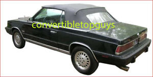 Chrysler Lebaron Dodge 600 Convertible Top Do It Yourself Package 1984 1986