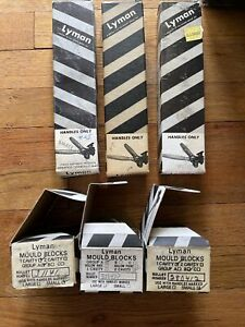 70s 80s Vintage Lyman 3 Handle Boxes Only No Handles $12.00