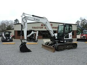 2017 Bobcat E85 Excavator Very Nice Watch Video Only 1410 Hours
