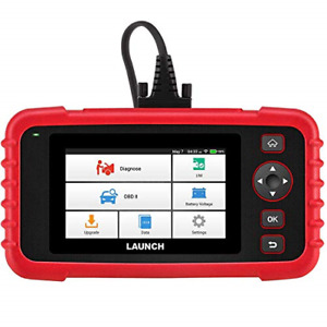 Launch Scan Tool Crp123x Obd2 Scanner Check Engine Abs Srs Transmission Code Car