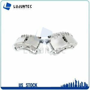 Front Brake Calipers With Bracket For Ford Mustang 1999 2000 2001 2002 1 Pair