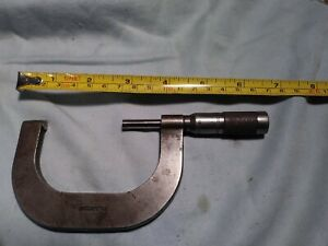Vintage Brown Sharpe Micrometer No 50 Machinist Tool Antique