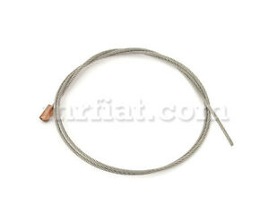 Ferrari Dino 206 246 Gt Gts Stainless Steel Door Pull Cable New