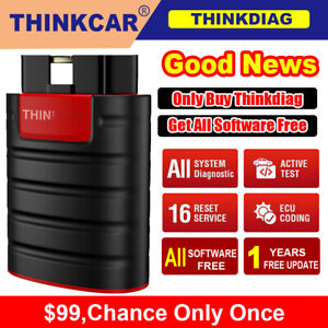 Thinkdiag Full Software Free Bluetooth Obd2 Bidirectional Diagnostic Scan Tool