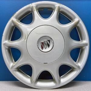 One 1997 2003 Buick Century 1148a 2 Piece Hubcap Wheel Cover Gm 09594868