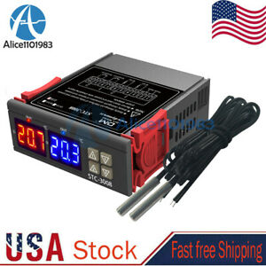 Ac 110 220v Led Display Digital Thermostat Temperature Controller Stc 3008